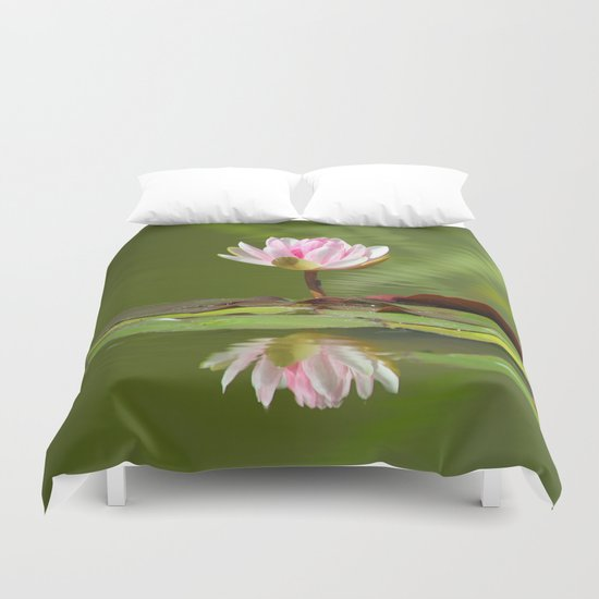Water_Lily_2015_0501 Duvet Cover