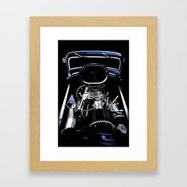 1932 Ford Hot Rod - Motor Framed Art Print