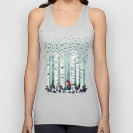 The Birches Unisex Tank Top