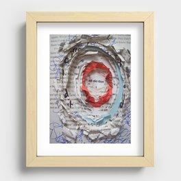 Personal Habit #1 Recessed Framed Print