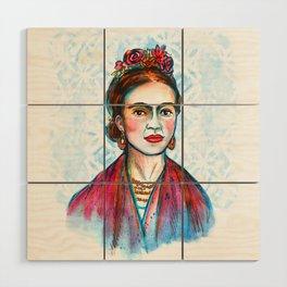 Frida Wood Wall Art