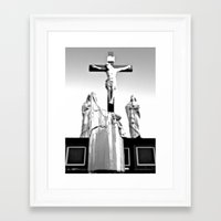 religious Framed Art Prints featuring Religious aesthetics by Vorona Photography