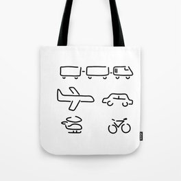 turn mobility travel Tote Bag