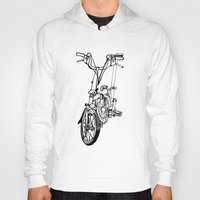 brompton Hoodies featuring Brompton by Swasky