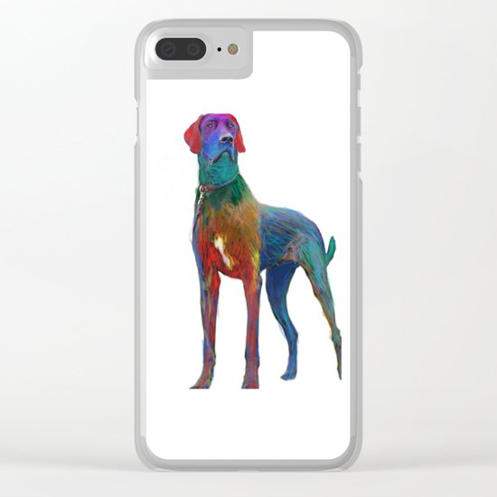 Great Dane Uncropped Clear iPhone Case