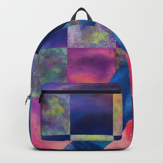 Unsymmetrical Order Backpack