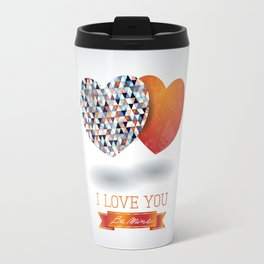 Two hearts Travel Mug