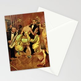 Metropolis No. 2 - Gross Stadt by Otto Dix Stationery Cards