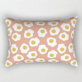 Eggs On Repeat Rectangular Pillow