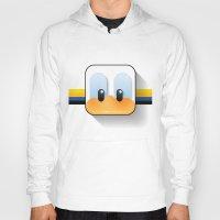 donald duck Hoodies featuring donald duck by designoMatt