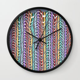 Hills and Valleys Wall Clock