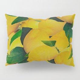 Old Gold Lemons Pillow Sham