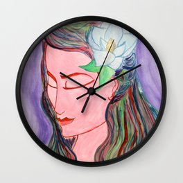 Colors are Life Wall Clock