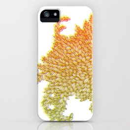 Monster Leaves iPhone Case