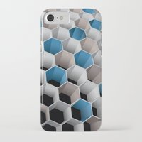 honeycomb iPhone & iPod Cases featuring Honeycomb by amanvel