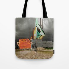 Magritte is waiting 8 Tote Bag