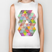 lost Biker Tanks featuring Lost in ▲ by Bianca Green