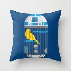 R2 Birdcage Throw Pillow