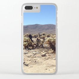 Death Valley 1 Clear iPhone Case
