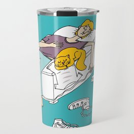 Why should I make my bed again Travel Mug