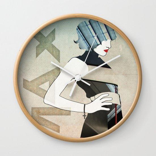 Maxii Girl Wall Clock