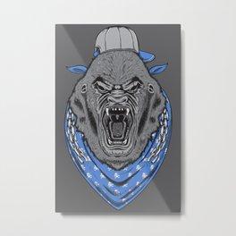 Mad Gorilla Metal Print