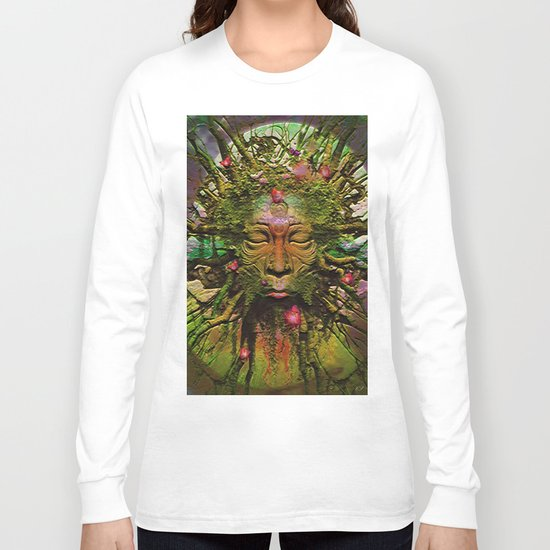 """"""" The nature acts, the man makes. """" Long Sleeve T-shirt"""