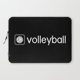 Volleyball (Grey) Laptop Sleeve
