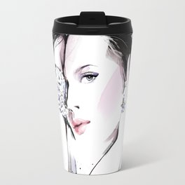 Fashion Painting #7 Travel Mug