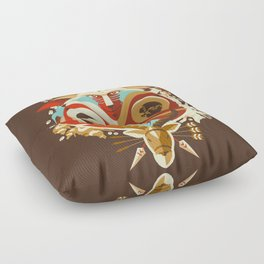 The Days of Gods and Demons Floor Pillow