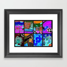 GOL Framed Art Print