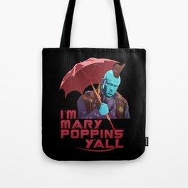 Yondu Poppins Tote Bag