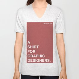 BDFD - Graphic Designer Unisex V-Neck