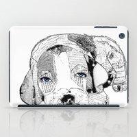 beagle iPad Cases featuring Beagle by bri.buckley