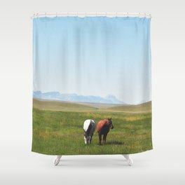 Free Reign Shower Curtain