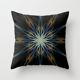 Infinite Star Throw Pillow