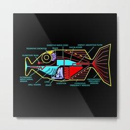 Babel fish Metal Print