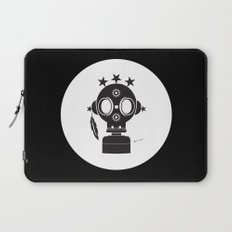 Post World Zuno : Gas Mask 02 Laptop Sleeve