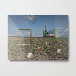 atmosphere · ausgekocht Metal Print