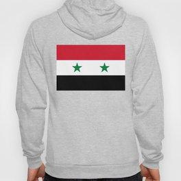 Flag of Syria, High Quality image Hoody