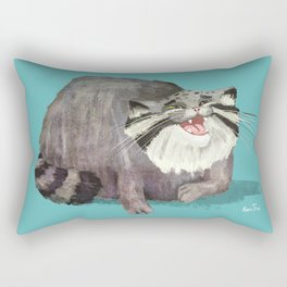 Manul Cat 2 Rectangular Pillow