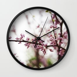 The Pinker the Better Wall Clock
