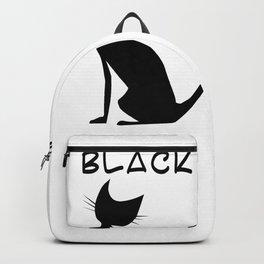 black is elegant Backpack