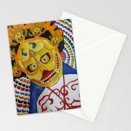 Masks Stationery Cards