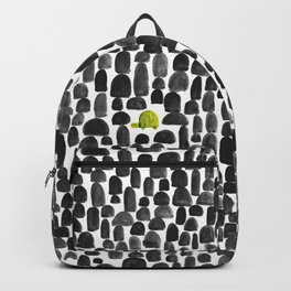 Turtle in Stone Garden Backpack