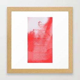 If— BY RUDYARD KIPLING v3 Framed Art Print