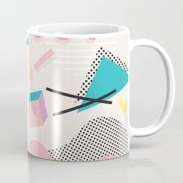 Memphis Design Inspired Pattern Coffee Mug