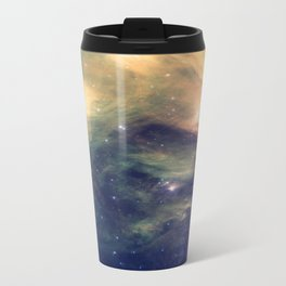 Galaxy: Pleiades Star Cluster neBULa Deep Pastels Travel Mug