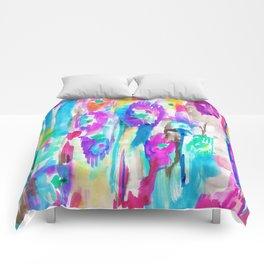 Summer Ikat Comforters