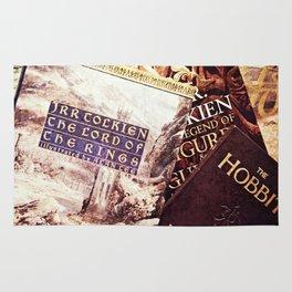 Tolkien Books Rug